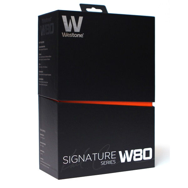 Westone W80 Signature Series 8-Balanced Armature In Ear Headphones