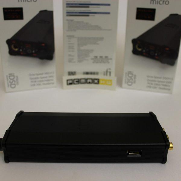 دیجیتال انالوگ کانورتر و امپلیفایر هدفون با قدرت خروجی 4000 میلی وات IFI Audio iDSD Black Label