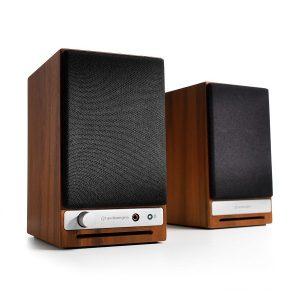 اسپیکر اودیو انجین اچ دی 3 به همراه امپلیفایر و دیجیتال انالوگ کانورتر - Audioengine HD3 Powered Bookshelf Speakers System