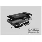 دستگاه پخش کننده موسیقی های رزلوشن رفرنس ایباسو دی اکس 200 - iBasso DX200 High Resolution Reference Audio Player