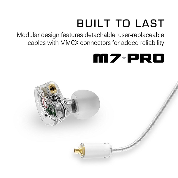 Mee audio M7 PRO Universal-Fit Hybrid Dual-Driver In-Ear Monitors (1)