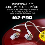 Mee audio M7 PRO Universal-Fit Hybrid Dual-Driver In-Ear Monitors (6)