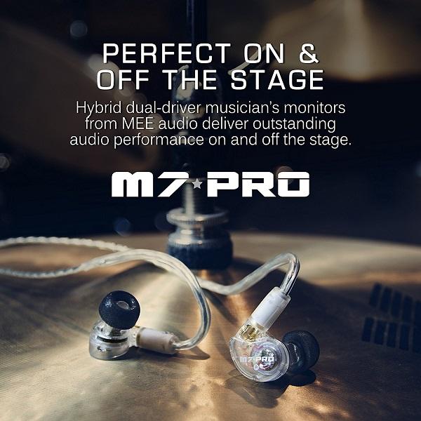 ایرفون هیبرید دو درایو بالانس ارماچر + داینامیک می اودیو M7 Pro -