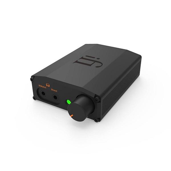 دیجیتال انالوگ کانورتر و امپلیفایر هدفون سری نانو مدل ای دی اس دی بلک لیبل -IFI Audio Nano iDSD Black Label