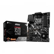 MSI X570-A Pro , AMD AM4 , DDR4 ,USB 3,2 Gen 2 , HDMI , ATX Motherboard مادربورد برند MSI مدل X570-A Pro با چیپست جدید X570 سوکت AM4