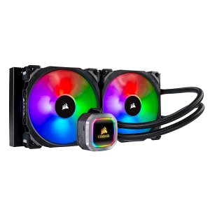 Corsair Hydro Series H115i RGB PLATINUM 280mm Liquid CPU Cooler خنک کننده مایع AIO برند کورس ایر - کورسیر Corsair مدل H115i RGB Platinum