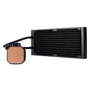 Corsair Hydro Series H115i RGB PLATINUM 280mm Liquid CPU Cooler خنک کننده مایع AIO برند کورس ایر - کورسیر Corsair مدل H115i RGB Platinum