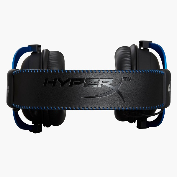 Kingston HyperX Cloud PlayStation Official Licensed for PS4 Wired Stereo Gaming Headset هدست گیمینگ برند KingSton سری HyperX مدل HyperX Cloud Playstation با لایسنس اختصاصی از سونی برای پلی استیشن و قابل استفاده با همه تجهیزات دارای جک 3.5 میلیمتر