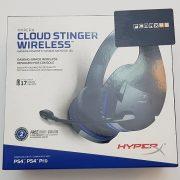 KingSton HyperX Cloud Stinger Wireless Gaming Headset For PS4 هدست وایرلس بی سیم گیمینگ برند KingSton مجموعه HyperX مدل Cloud Stinger Wireless سازگار با PC , PS4 , PS4 Pro