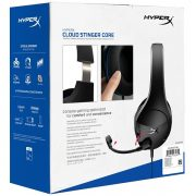 Kingston HyperX Cloud Stinger Core Gaming Headset For PS4 هدست گیمینگ برند KingSton مجموعه HyperX سری Stinger Core PS4 - همچنین سازگار با کنسول های بازی Xbox One , Nintendo Switch