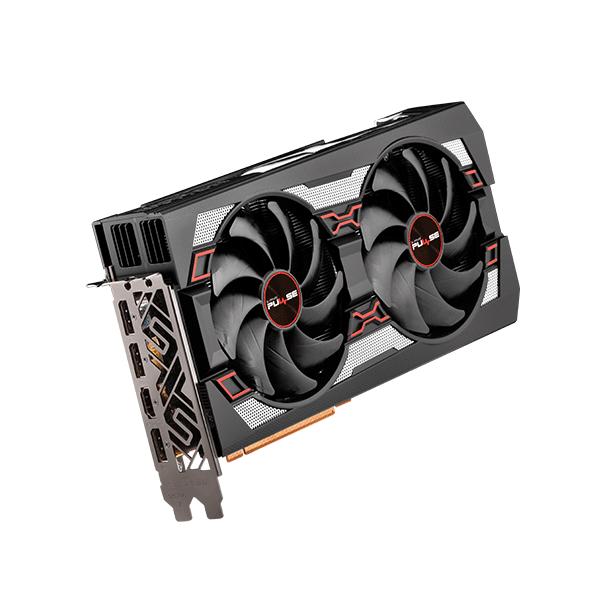 Sapphire Radeon PULSE RX 5700 XT 8G GDDR6 Graphic Card کارت گرافیک AMD Radeon سری RX 5700 XT برند Sapphire سری Pulse
