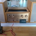 IFI Audio Retro Stereo 50 All In One DAC & Class A Tube Headphone Amplifier & Speakers System
